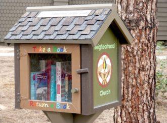 A Magenta due casette per lo scambio di libri