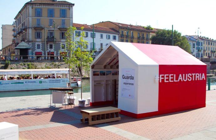 Austria a Milano: turismo green e casa in cartone
