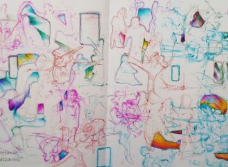 Lo schizzo urbano diventa arte da Seattle a Magenta