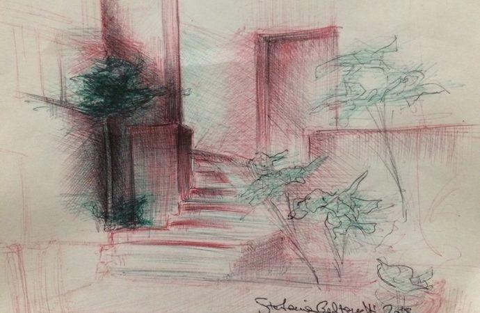 Sketchmob alla chiesa dei SS. Giovanni e Paolo