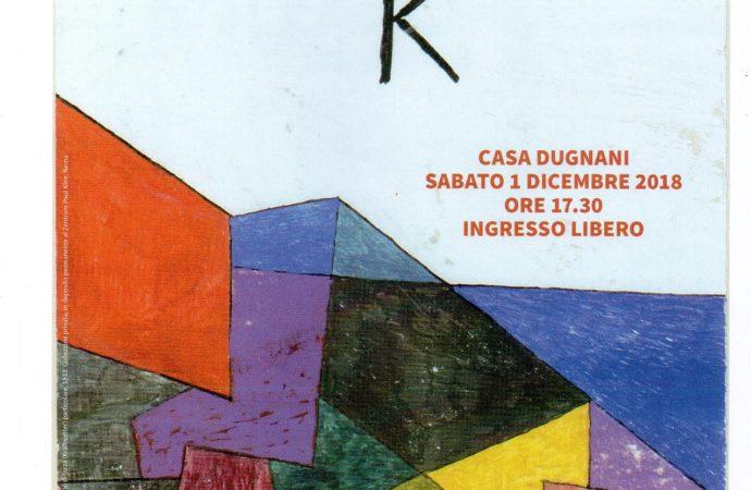 A Robecco il primo dicembre si presenta Klee
