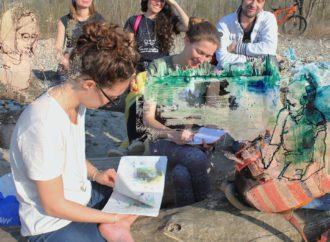 Clean up e urban sketching sulle rive del Ticino
