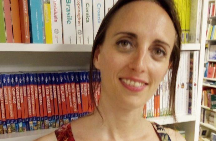 Dejanira Bada si è fermata nella libreria di Magenta