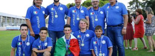 Nosotti è campione mondiale di pesca